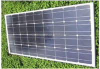 100W 12V Mono solar panel solar module pv panel photovoltaic panel for caravans