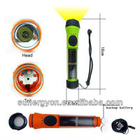 waterproof solar flashlight 0.5W solar energy cheap solar torch