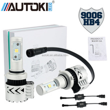 AUTOKI High Power 9006/HB4 72W 6000LM C-REE XHP50 LED Car Headlight Conversion Kit Fog Lamp Bulb DRL 6500K