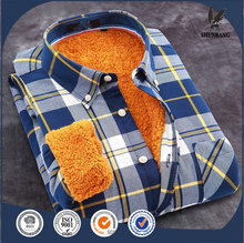 high visibility flannel thick warm long sleeve tops latest plaid shirt designs for men
