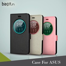 Mobile Accessories PU Leather Pattern Phone Case For ASUS