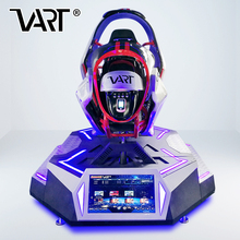 Real track simulation 9d vr driving simulator racing car game machine equipment from Longcheng VART