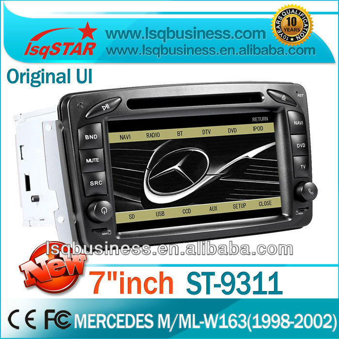 Car DVD Player for Mercedes-Benz W203/ W210/ W168/ C209 W209/ W463 with GPS Navigation full functions Andriod 3G WiFi option
