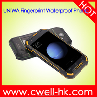UNIWA XP8800 1GB RAM/16GB ROM Quad core 4G lte IP67 waterproof mobile phones with 4000mah battery