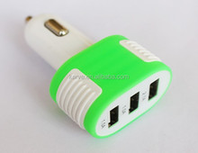 high quality Universal Mini 2 port Usb Car Charger with 5v 3.1A for UK,US,AU