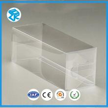 Folding Display Disposable Plastic Box With Hanging Hole