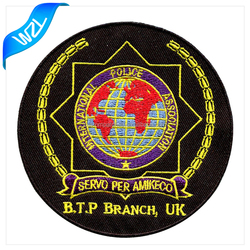 International clothing patch for garment, bag and shoes repair textile embroidered patch