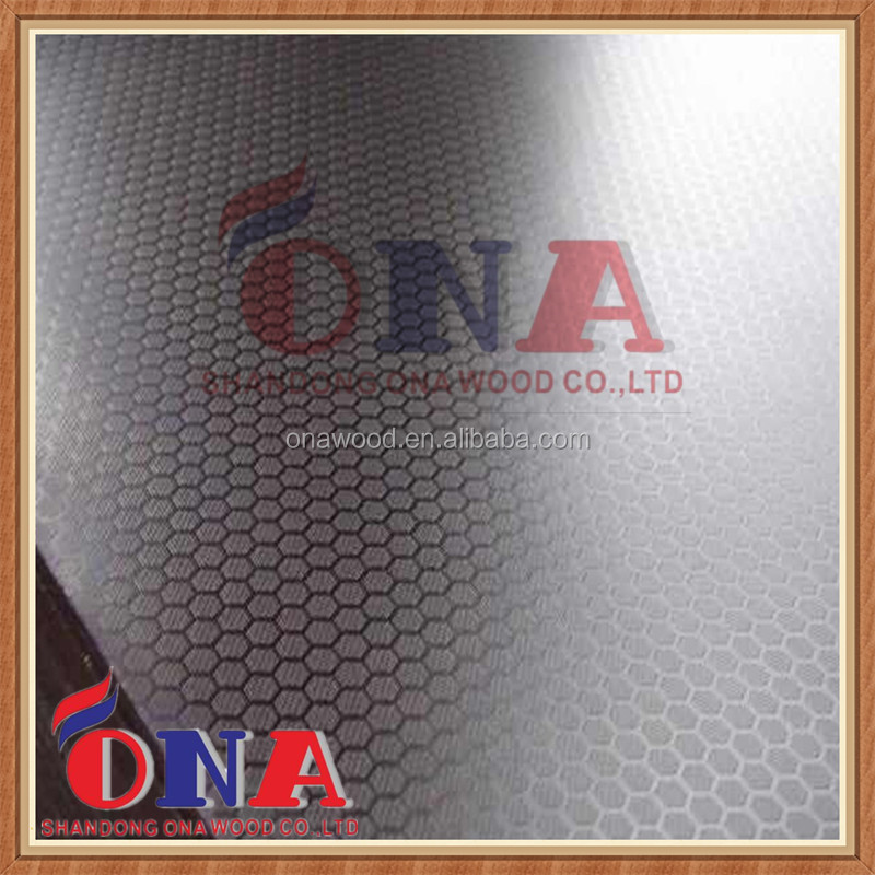15mm pine core 1250*2500 mm anti-slip film faced plywood of ONA