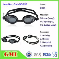 Safety anti fog silicone swim goggles with factory price