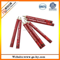 Mini golf HB pencil with personalized printing