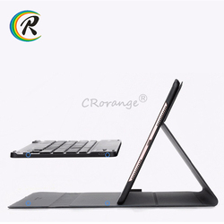 Ultra Slim Glass Bluetooth 3.0 keyboard gaming for ipad 2018 case Stand Removeable Keyboard