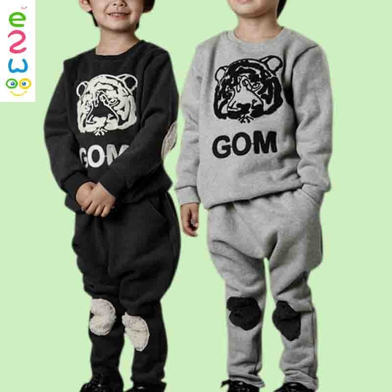Turkey Wholesale Children Clothes New Models Boys Casual Sports Suits