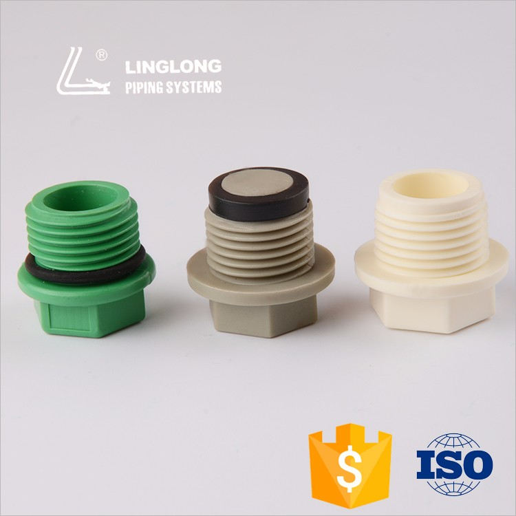 Good quality clear ppr threaded pipe cap
