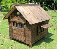 Pet Products Dog outdoor large wooden dog house for dog
