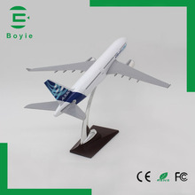 Plane toys A330 original feature scale airbus handmade 32cm airplane model 1 200 for audult