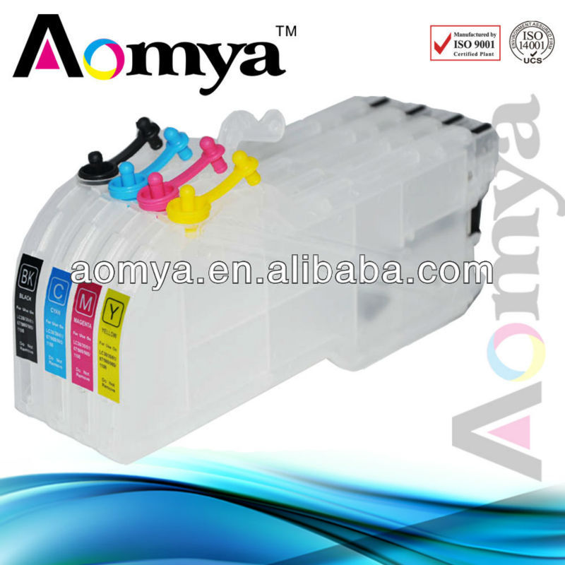 Empty Refillable Ink Cartridge LC73 LC75 LC400 LC1240 for brother ink cartridge for brother lc400