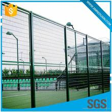 Sports field extensively used anti climb security steel tennis court playground fence