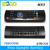 2015 best selling MX3 unique 2.4g wireless mouse for android tv box remote air mouse