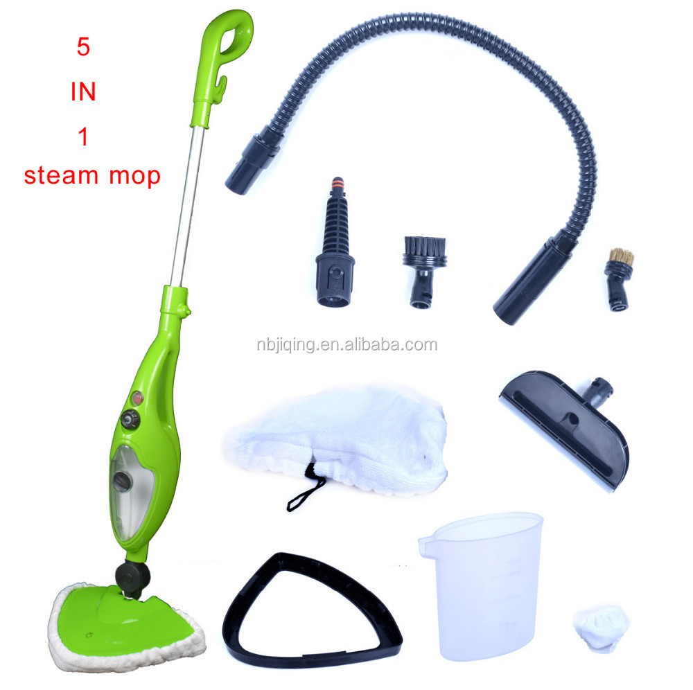 New design 5 in 1 1300W steam mop with high quality in low price