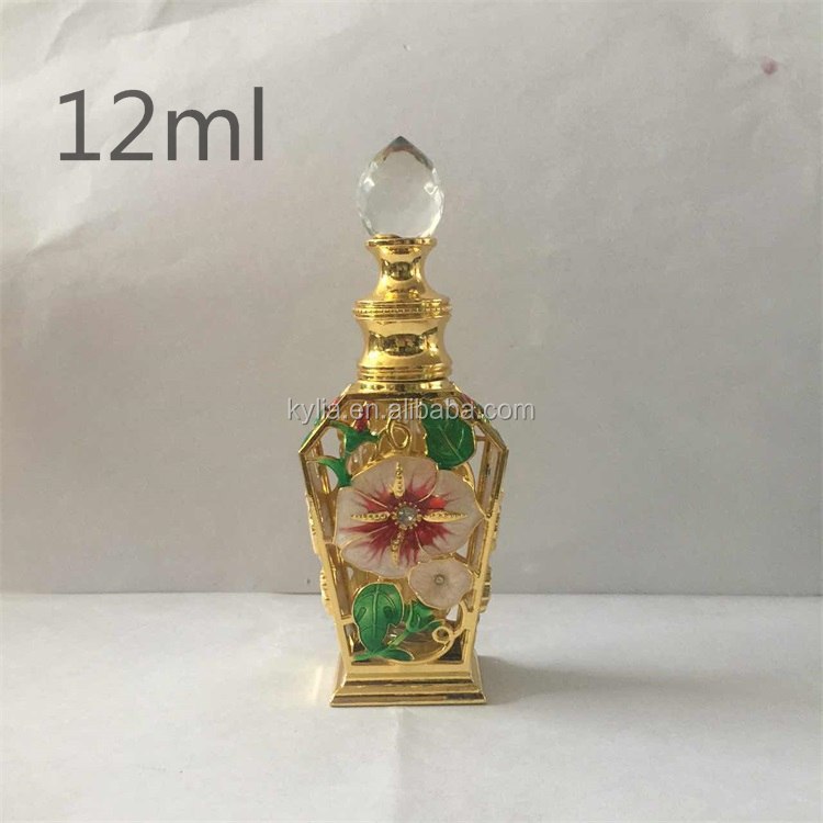 3ml 8ml 10ml 12ml perfume metal bottle screw cap for dubai
