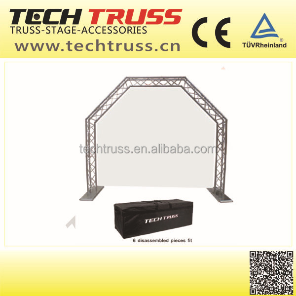 dj equipment , dj stand , Portable dj truss easy to move!