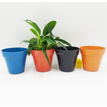 Small Garden decoration flower pots wholesale,small plant fiber flower pots