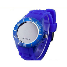 Hot sell royalblue silicone LED watch