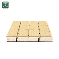 Anti-moisture Magnasium Composite MDF Grooved Wood Acoustic Wall panel