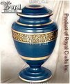 Solid Brass Large Cremation Urn