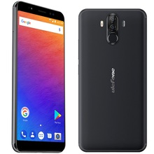 "Ulefone Power 3S 6.0""18:9 Full Screen Smartphone MTK6763 Octa 6380mAh 4GB 64GB Face ID Four Camera Android 8.1 Mobile phone"
