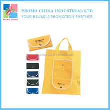 New Creative Portable Non-Woven Foldable Shopping Bag For Promotion