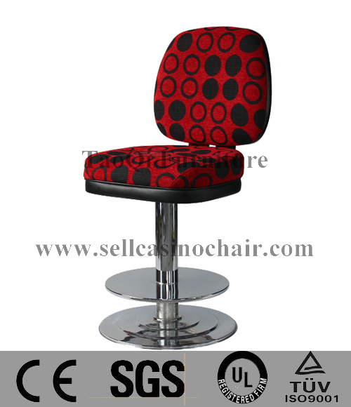 2015 new design red leather casino bar chairs k239