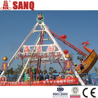 24 seats amusement pirate ship rides with high quality/attractive pirate ship rides used amusement park