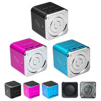 Price For Music Magic Angel Cube Bluetooth Speaker With Manual LH-MD07