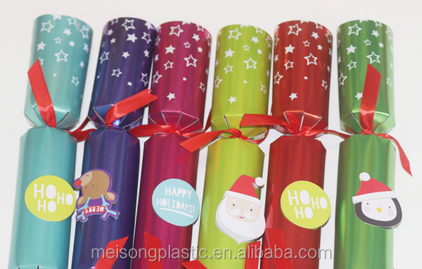 Handmade Gift Christmas Decoration Christmas Crackers Indoor Fireworks Christmas