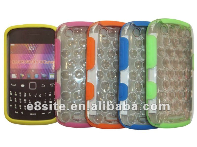 PC+TPU Frame Cover Case For Blackberry Curve 9350/9362/9370