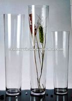 clear 100cm tall clear glass vases