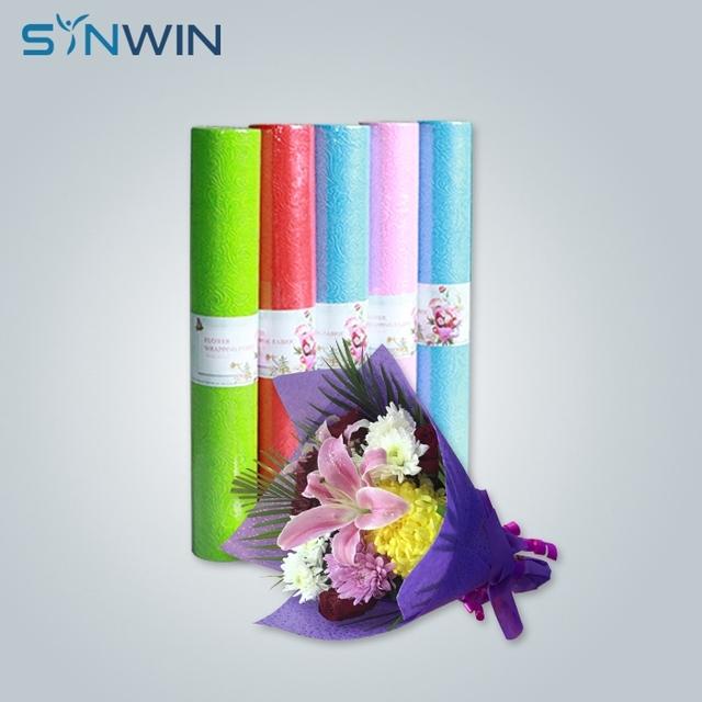 Korea Non Woven Fresh Flower Bouquet Wrapping Paper Nonwoven Fabric Paper For Wrapping Flower