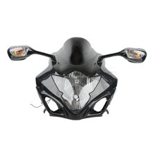 Black plastic Upper Fairing Cowl Combo For Suzuki GSXR1000 GSX-R 1000 2005-2006