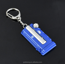 promotional gift custom metal souvenir K letter alphabet key chain with logo wholesale