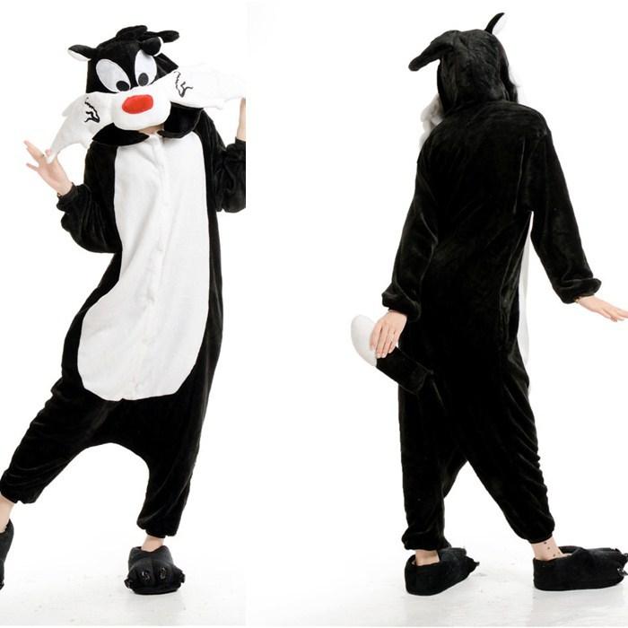 Get Quotations · Cute Wolf Animal Onesies Pajamas For Adult Cute Women s  One Piece Onesies Pajamas Hooded Onesies c913b2c67
