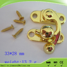 Gold supplier Case Locking Latches Catch for wooden jewelry box