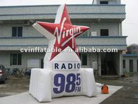 Advertising inflatable star