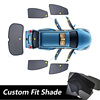 Custom fit shade mesh car window curtain for City 09-