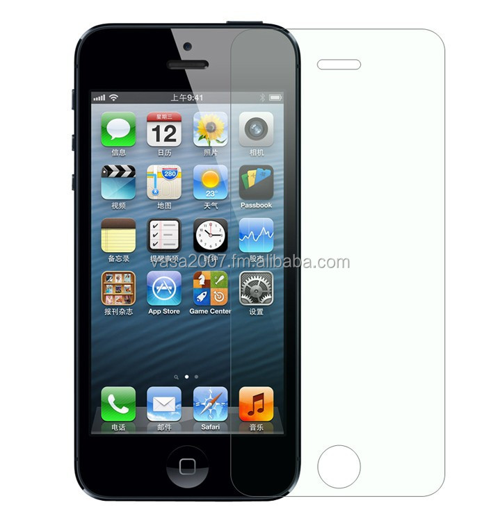 for Iphone5 tempered glass screen protector