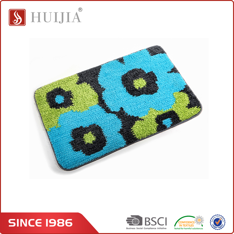 HUIJIA 2017 New Type Chenille Living Room Flower Pattern Shaggy Wool Carpets Mats And Rugs