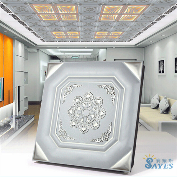 Light ceiling tiles roll luxury color aluminum ceiling board building material decorative