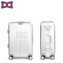 """20"" hardshell aluminum frame pc 4 wheels travel trolley luggage box carry on bag"