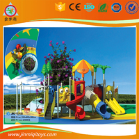 outdoor LLDPE plastic playground kids slide ,baby swing slides