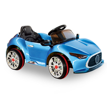 Hot selling kids ride on car four wheels safe kids electric toy car